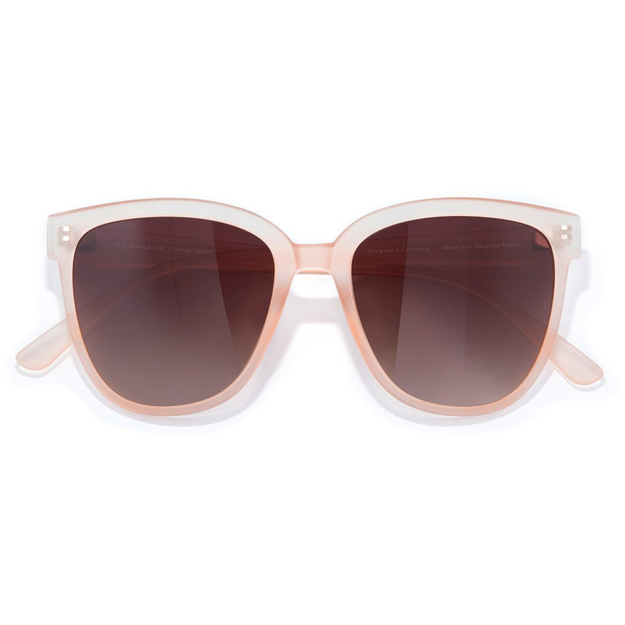 Sunski Camina Polarized Glasses - Blush Terra Fade