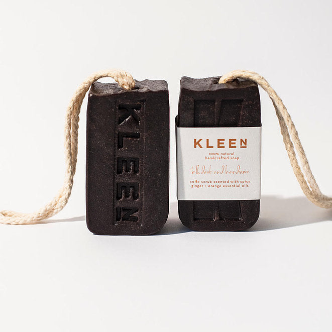Kleen Soap-on-a-Rope - Tall, Dark & Handsome