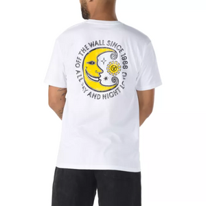 Vans Men's Day And Night T-Shirt - White