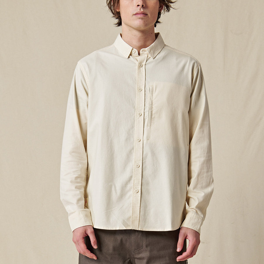 Globe Men's Foundation Long Sleeve Shirt - Bleach Free - Dye Free
