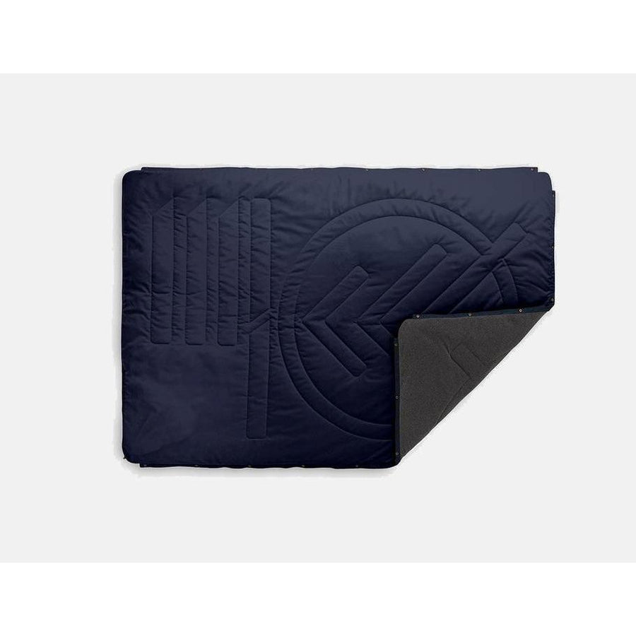 Voited Recycled Ripstop FLEECE Outdoor PillowBlanket - Navy