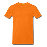 Men's Premium T-Shirt - oranje