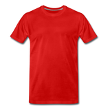 Men's Premium T-Shirt - rood