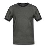 Men's Ringer Shirt - antraciet/zwart
