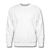 Men's Premium Sweatshirt - wit