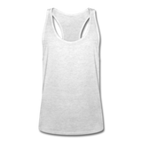 Men's Tank Top with racer back - grijs gemêleerd