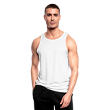 Men's Breathable Tank Top - wit