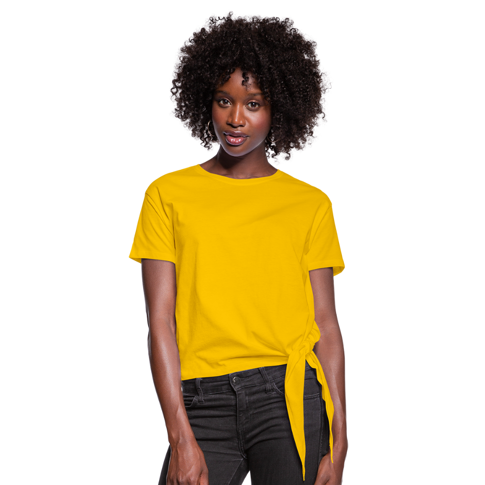 Women's Knotted T-Shirt - zongeel