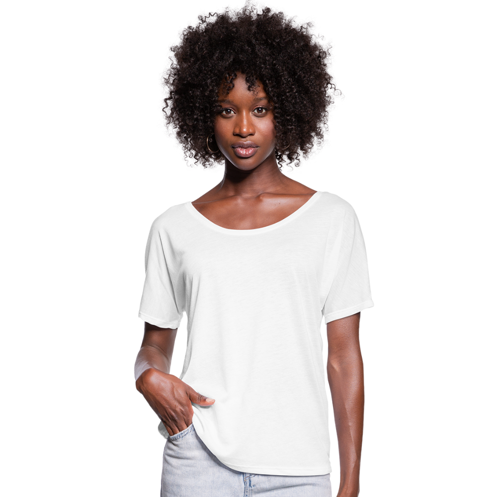 Women's Batwing-Sleeve T-Shirt | Bella + Canvas - wit