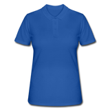 Women's Polo Shirt - koningsblauw