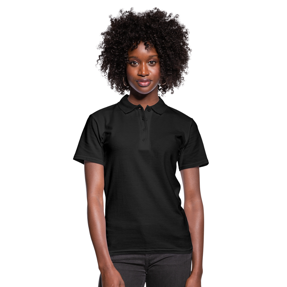 Women's Polo Shirt - zwart