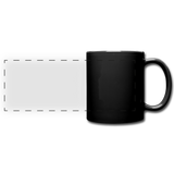 Full Color Panoramic Mug - zwart