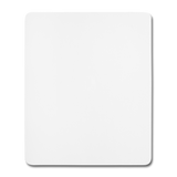 Mouse Pad (vertical) - wit