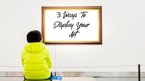 Ways to hang your artwork