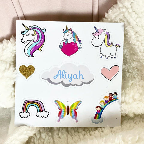 Personalized Sticker Pack