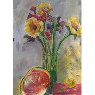 I Like Watermelon With My Flowers - PAINTloose
