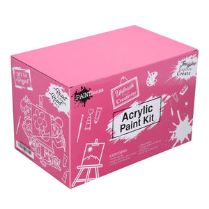 Pink Acrylic Paint Kit