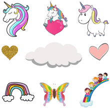 Load image into Gallery viewer, Personalized Kiss Cut Stickers - PAINTloose