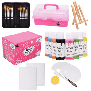 30 piece acrylic paint kit