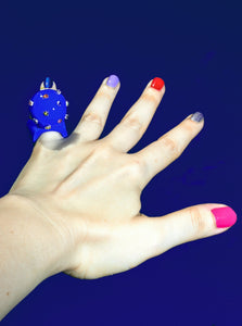 Electric Blue Ring