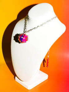 Disco Ball Choker Necklace in Bouillabaisse