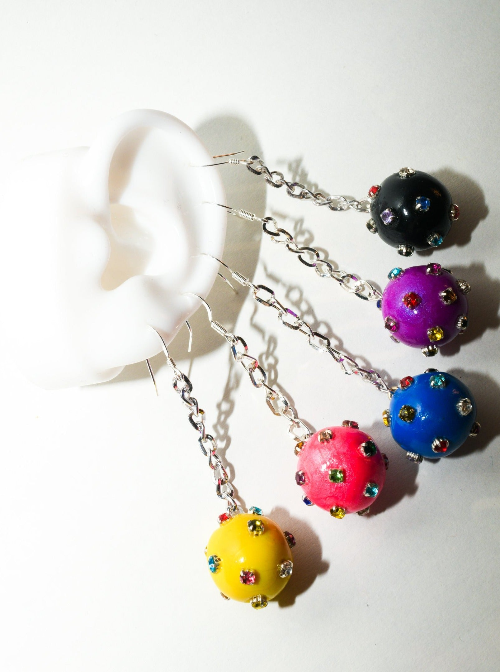 Gumdrop Earrings - Multicolor