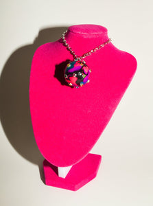 Disco Ball Choker Necklace in Girls Just Wanna Have Fun