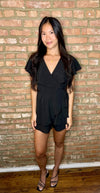 Summer Friday Romper- Black