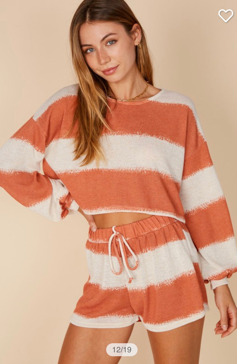 Brick Long Sleeve Set