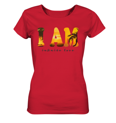 I AM<br>Ladies Organic Shirt