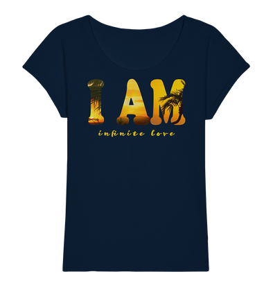 I AM<br>Ladies Organic Slub Shirt