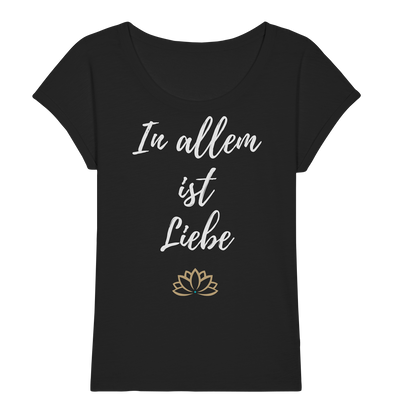 IN ALLEM <br>Ladies Organic Slub Shirt