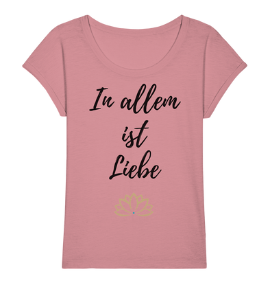 IN ALLEM<br>Ladies Organic Slub Shirt