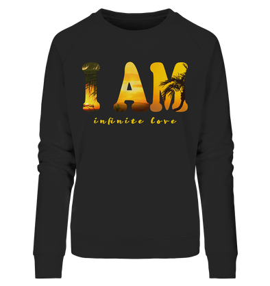 I AM<br>Ladies Organic Sweatshirt