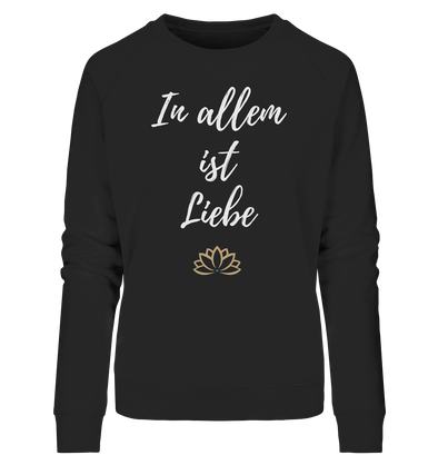 IN ALLEM<br>Ladies Organic Sweatshirt