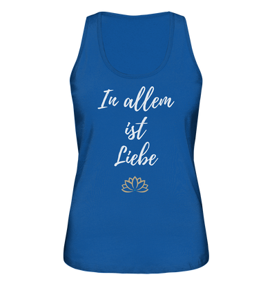 IN ALLEM<br>Ladies Organic Tank-Top