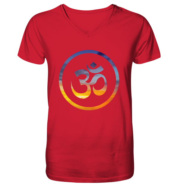 OM<br>Mens Organic V-Neck Shirt