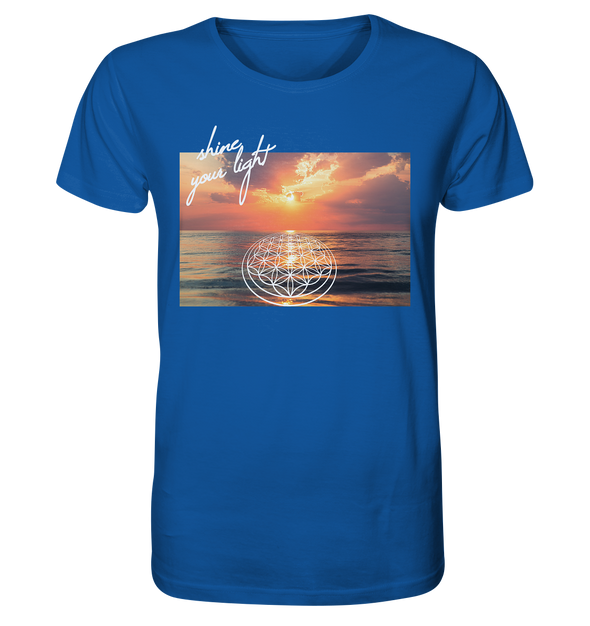 SHINE YOUR LIGHT<br>Organic Shirt