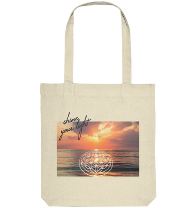 SHINE YOUR LIGHT<br>Organic Tote-Bag