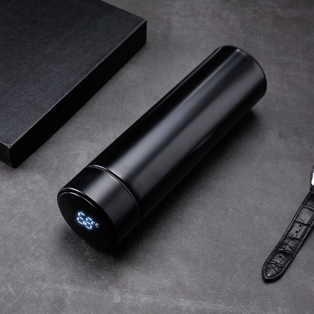 Intelligent Stainless Steel Thermos Water Bottle