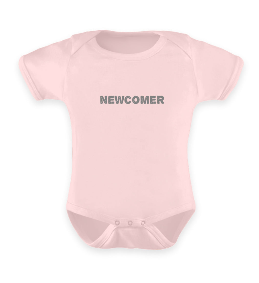 Puder Rosa Strampler Baby Body Newcomer