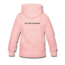 "Lade das Bild in den Galerie-Viewer, Women's Premium Hoodie ""Stay at home"" - Kristallrosa"