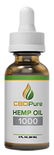 Load image into Gallery viewer, CBDPure Hemp Oil 1000mg