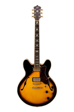Load image into Gallery viewer, SX Semi-Acoustic 335 Style - Tobacco Sunbrust - Varsity Music Shop
