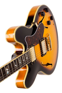 SX Semi-Acoustic 335 Style - Tobacco Sunbrust - Varsity Music Shop