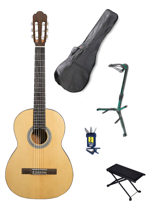 Rivertone Full Size Classical Guitar Pack - Varsity Music Shop