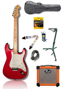 Nashville Stratocaster Electric Guitar Pack - Varsity Music Shop