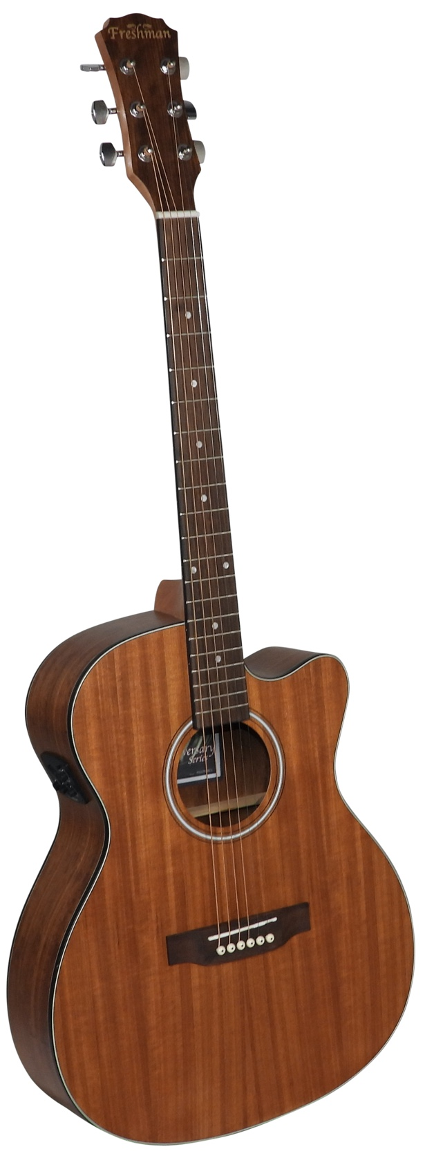 NEW Freshman Limited Edition FALTDWALOC All Walnut Electro-Acoustic Cutaway - Varsity Music Shop