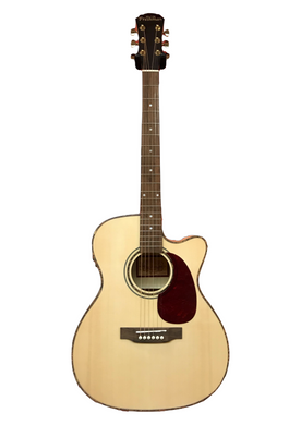 NEW Freshman 20th Anniversary Series FALTMAPOC Solid Spruce Top Maple body Electro-Acoustic Cutaway Guitar - Varsity Music Shop