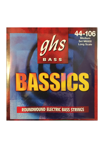 GHS 'Bassics' Roundwound Electric Bass Strings, Gauge 44-106 - Varsity Music Shop